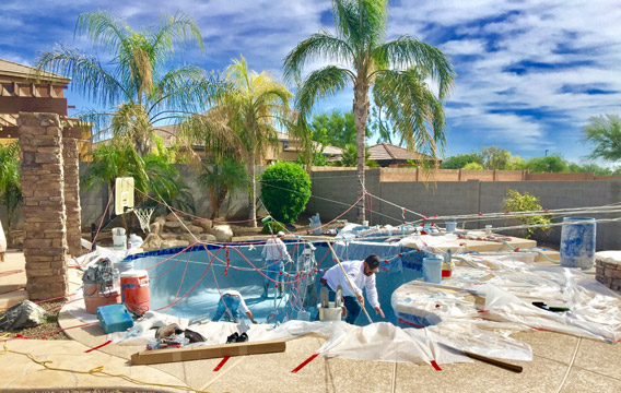 Brand new pool construction compnany
